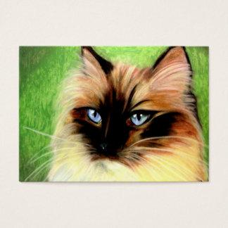 Ragdoll Cat Portrait ACEO Art Trading Cards
