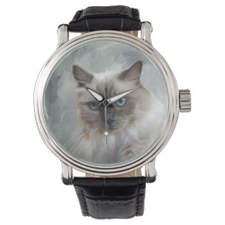 Ragdoll Cat Wrist Watch