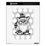Ragdoll Cutie Face Kitten Decals For The NOOK