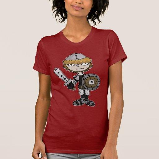 ragdoll del caballero camiseta