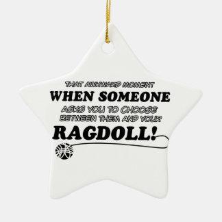 ragdoll design christmas ornament