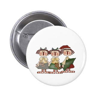 Ragdoll Friends Holiday Buttons