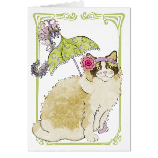Ragdoll Greeting Card