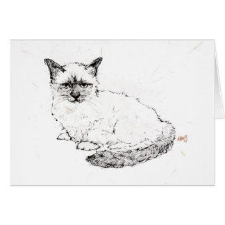 Ragdoll Kitten Greeting Card