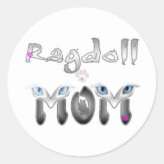 Ragdoll Mom Gifts Classic Round Sticker