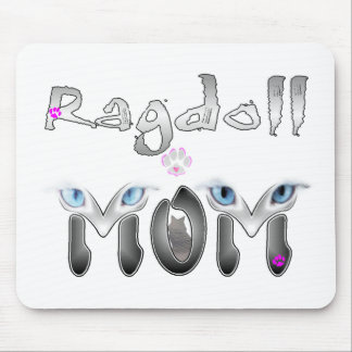 Ragdoll Mom Gifts Mouse Pad