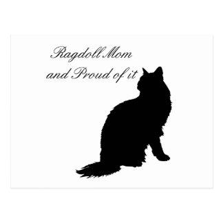 Ragdoll Mom Postcards