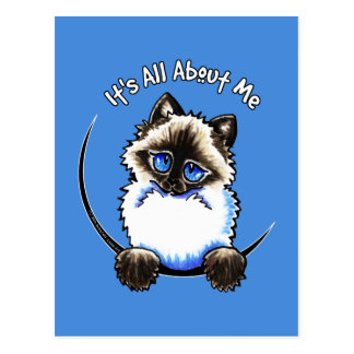 Ragdoll Ragamuffin Its All About Me Postcard