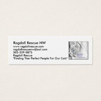 Ragdoll Rescue NW Mini Business Card