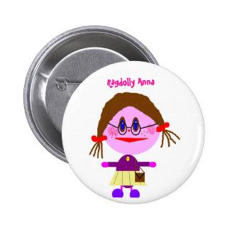 Ragdolly Anna 2 Inch Round Button