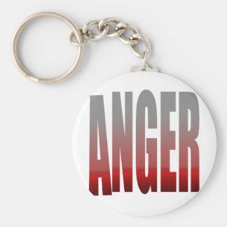 rage - anger keychain