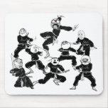 Rage Comic Meme Faces Ninja Gang Mousepad