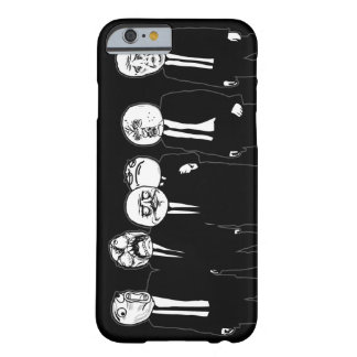 Rage Comic Meme Faces Walking. Me Gusta. Barely There iPhone 6 Case