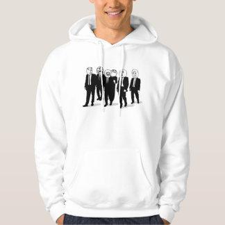 rage comic meme faces walking. me gusta. hoodies