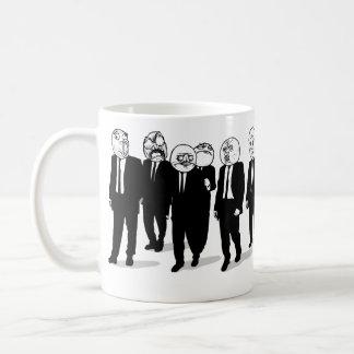 rage comic meme faces wraparound mug. me gusta. coffee mug