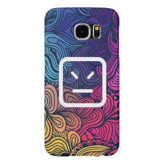 Rage Emoticons Pictograph Samsung Galaxy S6 Cases