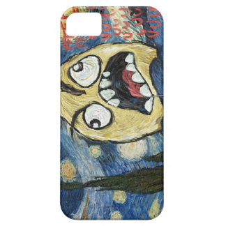 Rage Face Meme Face Comic Classy Painting iPhone 5 Cases