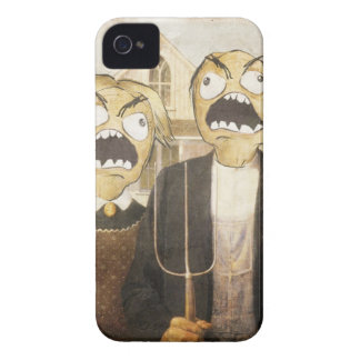 Rage Face Meme Face Comic Classy Painting iPhone 4 Cases
