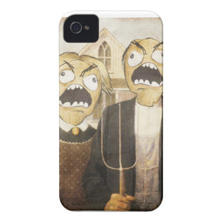 Rage Face Meme Face Comic Classy Painting iPhone 4 Case-Mate Cases