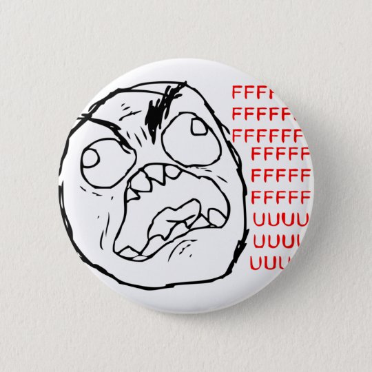 Rage Face Original Button