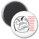 Rage Face Original Fridge Magnet