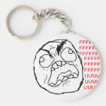 Rage Face Original Key Chains