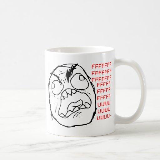 Rage Face Original Coffee Mugs