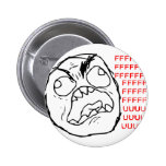 Rage Face Original Pinback Button