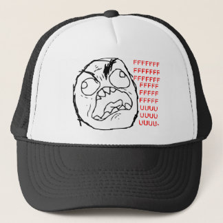 Rage Face Original Trucker Hat