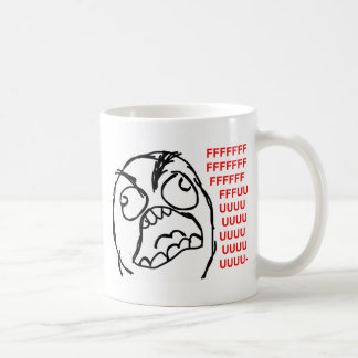 rage face rage comic meme lol rofl coffee mug