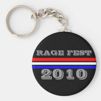 RAGE FEST 2010 SK8ER DISPLAYED KEY CHAINS