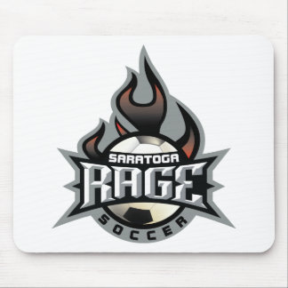 Rage Fire Mouse Pad