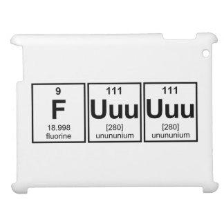 Rage Fuuuuuu Periodic Table Element Symbols iPad Covers