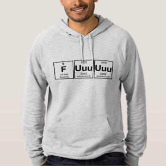 Rage Fuuuuuu Periodic Table Element Symbols Pullover