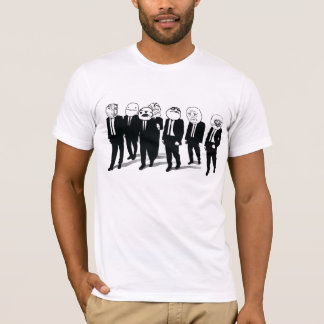 Rage Gang 2-sided Design Fitted T-Shirt