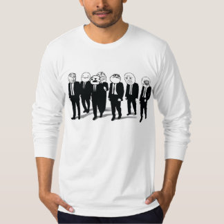 Rage Gang 2-sided Long Sleeve Fitted T-Shirt