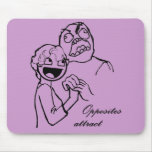 Rage Guy and Awesome Face 4evr Mouse Pad