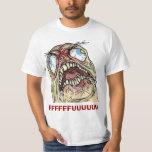 Rage Guy Angry Fu Internet meme Rage Face T-shirts