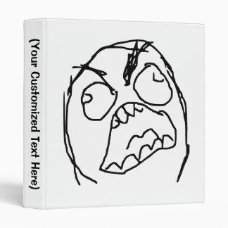 Rage Guy Angry Fuu Fuuu Rage Face Meme Binder