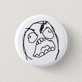 Rage Guy Angry Fuu Fuuu Rage Face Meme Pinback Button