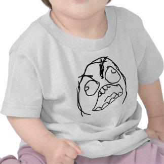 Rage Guy Angry Fuu Fuuu Rage Face Meme Tee Shirt