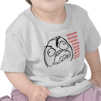 Rage Guy Angry Fuu Fuuu Rage Face Meme Tshirts