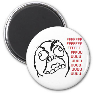 Rage guy fuuu fuuuu magnet