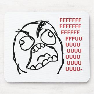 Rage guy fuuu fuuuu mouse pad