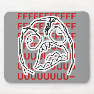 Rage Guy Mouse Pad
