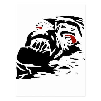 Rage guy postcard
