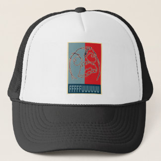 Rage Guy Propaganda Trucker Hat