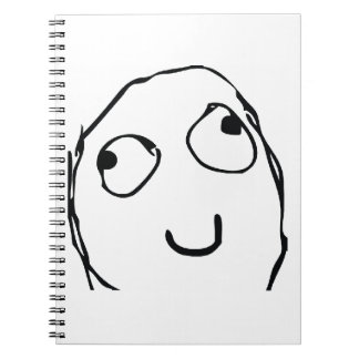 Rage Guy Smile Notebook