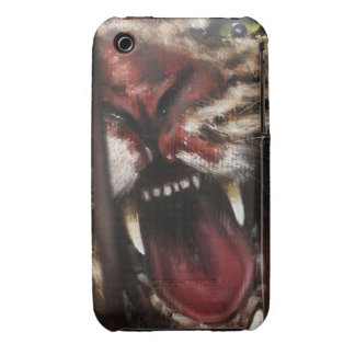 Rage in a Cage painting case vertical iPhone 3 Cases