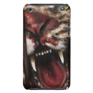 Rage in a Cage painting case vertical Case-Mate iPod Touch Case